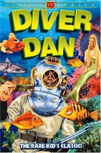 Random Movie Pick - Diver Dan 1961 Poster