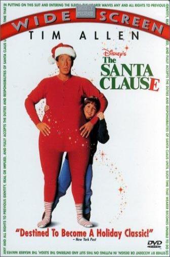 Random Movie Pick - The Santa Clause 1994 Poster