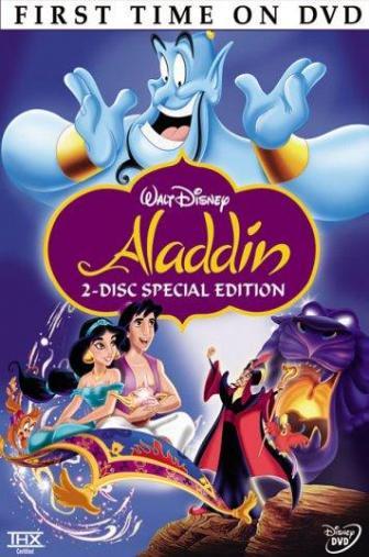Random Movie Pick - Aladdin 1992 Poster