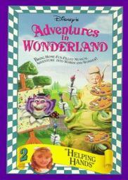 Random Movie Pick - Adventures in Wonderland 1992 Poster