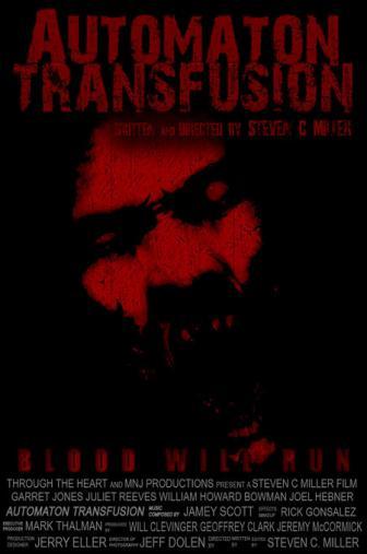 Random Movie Pick - Automaton Transfusion 2006 Poster