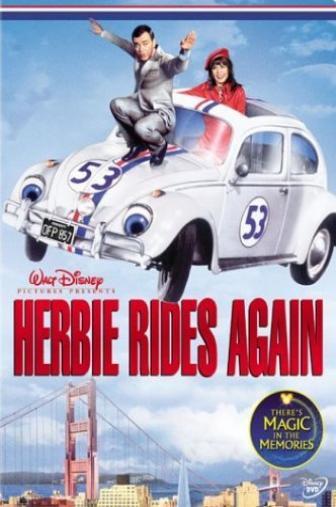 Random Movie Pick - Herbie Rides Again 1974 Poster
