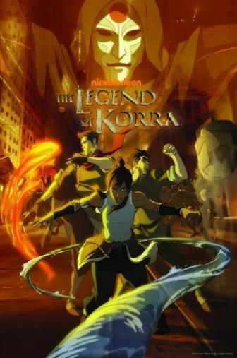 Random Movie Pick - The Legend of Korra 2012 Poster