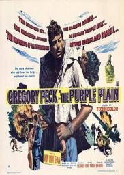 Random Movie Pick - The Purple Plain 1954 Poster