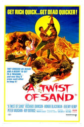 Random Movie Pick - A Twist of Sand 1968 Poster