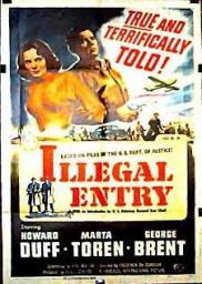 Random Movie Pick - Illegal Entry 1949 Poster