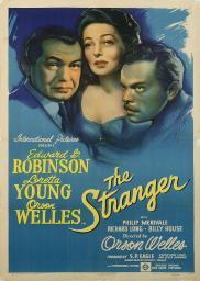 Random Movie Pick - The Stranger 1946 Poster