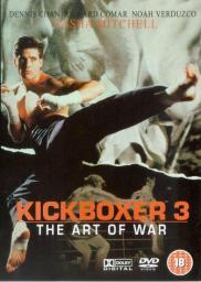 Random Movie Pick - Kickboxer 3: The Art of War 1992 Poster
