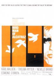 Random Movie Pick - Birdman of Alcatraz 1962 Poster
