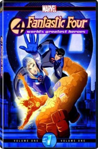 Random Movie Pick - Fantastic Four: World's Greatest Heroes 2006 Poster