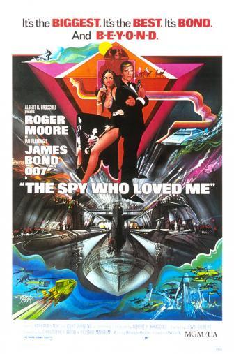Random Movie Pick - The Spy Who Loved Me 1977 Poster
