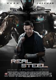 Random Movie Pick - Real Steel 2011 Poster