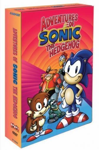 Random Movie Pick - Adventures of Sonic the Hedgehog 1993 Poster