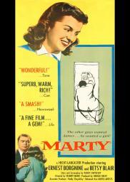 Random Movie Pick - Marty 1955 Poster