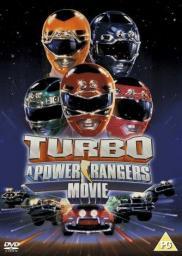 Random Movie Pick - Turbo: A Power Rangers Movie 1997 Poster