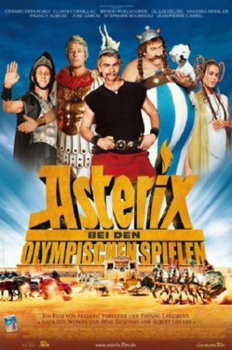 Random Movie Pick - Astérix aux jeux olympiques 2008 Poster