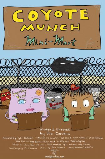 Random Movie Pick - Coyote Munch Mini-Mart 2014 Poster