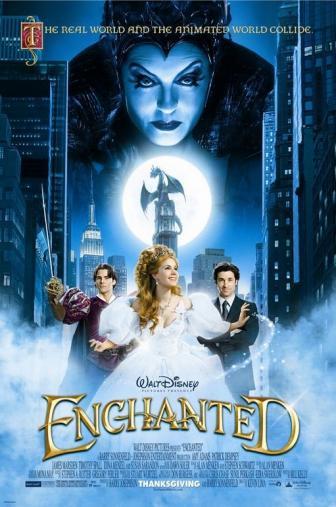 Random Movie Pick - Enchanted 2007 Poster