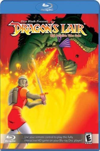 Random Movie Pick - Dragon's Lair 1984 Poster