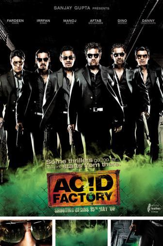 Random Movie Pick - Acid Factory 2009 Poster