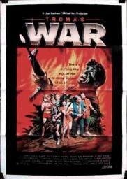 Random Movie Pick - Troma's War 1988 Poster