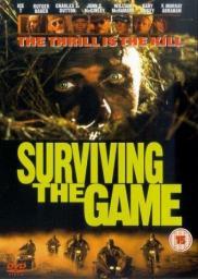 Random Movie Pick - Surviving the Game 1994 Poster