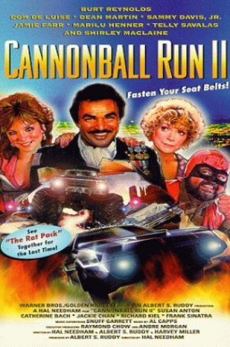 Random Movie Pick - Cannonball Run II 1984 Poster