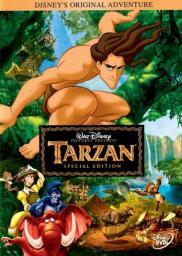Random Movie Pick - Tarzan 1999 Poster