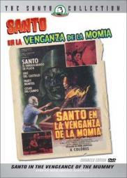 Random Movie Pick - Santo en la venganza de la momia 1971 Poster