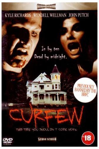 Random Movie Pick - Curfew 1989 Poster