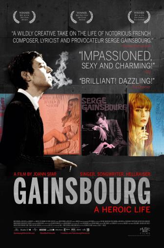 Random Movie Pick - Gainsbourg (Vie héroïque) 2010 Poster