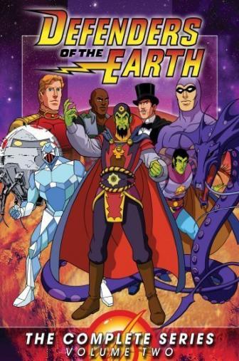 Random Movie Pick - Defenders of the Earth 1986 Poster