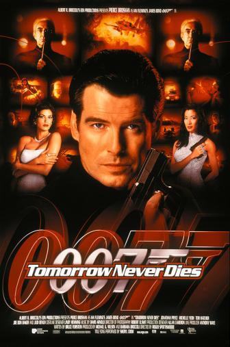 Random Movie Pick - Tomorrow Never Dies 1997 Poster