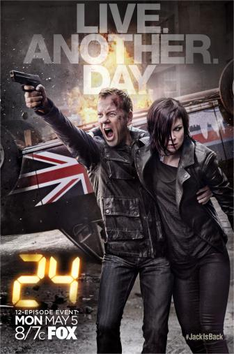 Random Movie Pick - 24: Live Another Day 2014 Poster