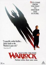 Random Movie Pick - Warlock 1989 Poster