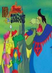 Random Movie Pick - Blazing Dragons 1996 Poster