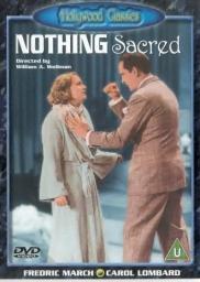 Random Movie Pick - Nothing Sacred 1937 Poster