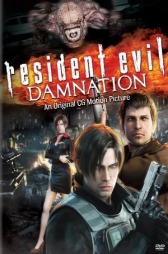 Random Movie Pick - Biohazard: Damnation 2012 Poster