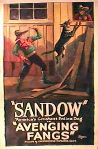 Random Movie Pick - Avenging Fangs 1927 Poster