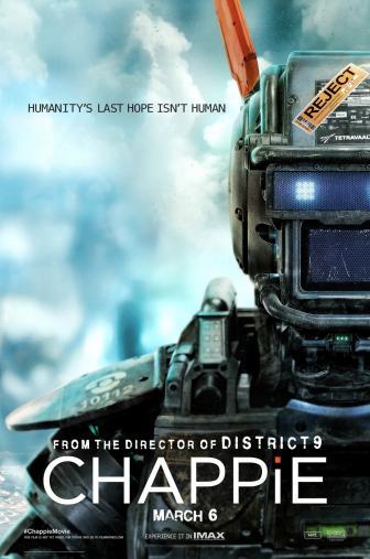 Random Movie Pick - Chappie 2015 Poster