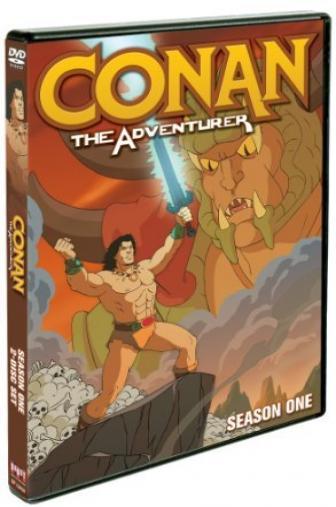 Random Movie Pick - Conan: The Adventurer 1992 Poster