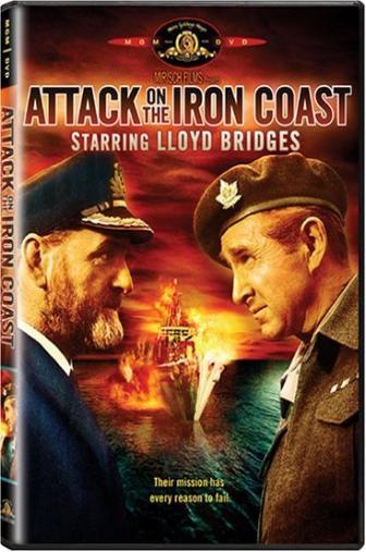 Random Movie Pick - Attack on the Iron Coast 1968 Poster
