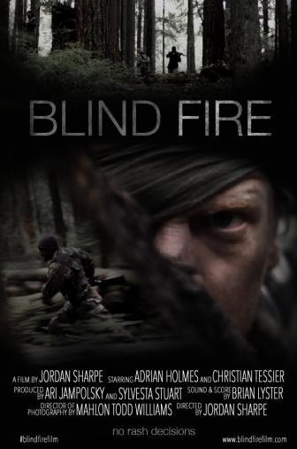Random Movie Pick - Blind Fire 2015 Poster