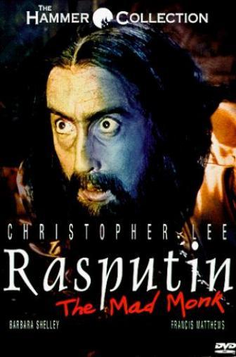 Random Movie Pick - Rasputin: The Mad Monk 1966 Poster