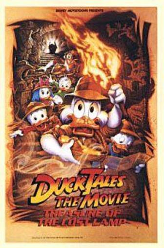 Random Movie Pick - DuckTales: The Movie - Treasure of the Lost Lamp 1990 Poster