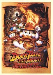 Random Movie Pick - DuckTales: The Movie - Treasure of the Lost Lamp 1990 Poster