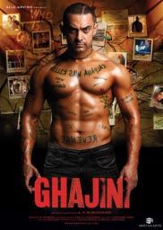 Random Movie Pick - Ghajini 2008 Poster