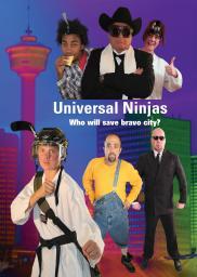 Random Movie Pick - Universal Ninjas 2012 Poster
