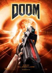 Random Movie Pick - Doom 2005 Poster