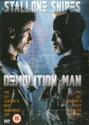 Random Movie Pick - Demolition Man 1993 Poster